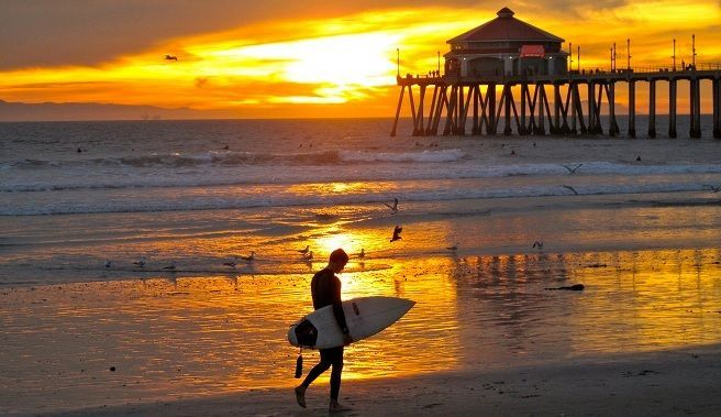 surf california