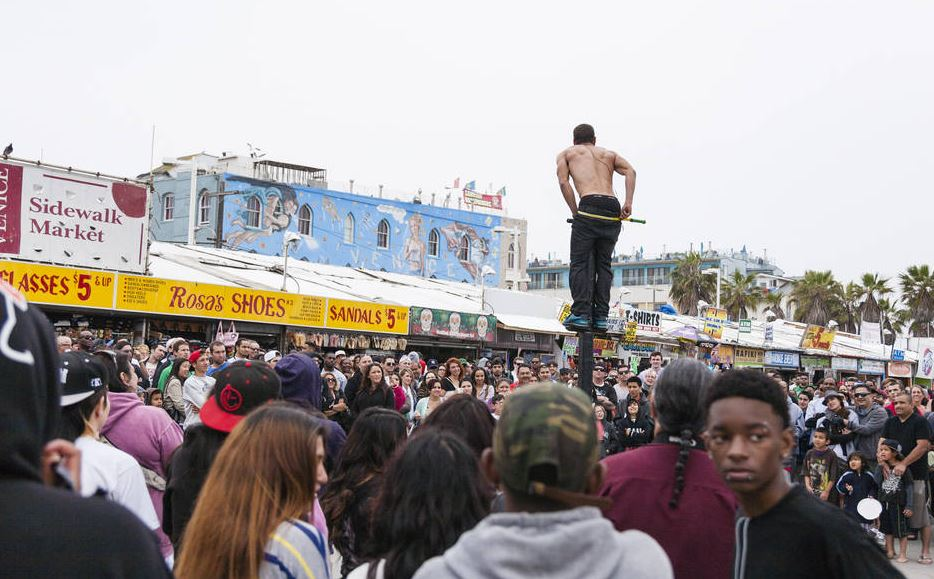 Venice Beach performance
